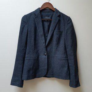 Aritzia T. Babaton charcoal grey blazer jacket